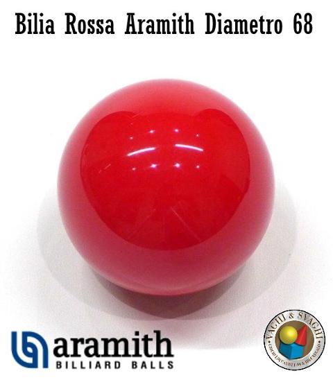 BILIA ROSSA SUPER ARAMITH DIAMETRO 68 MM