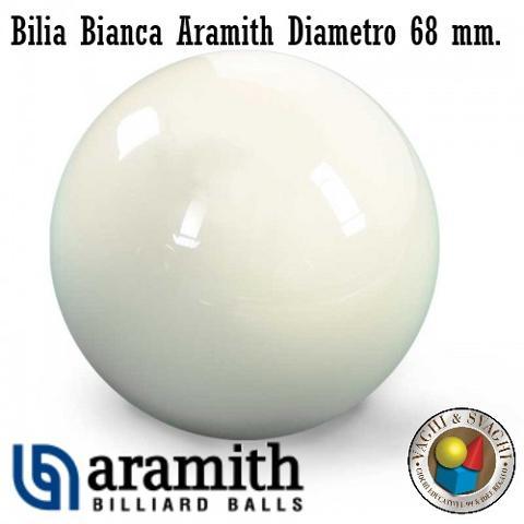 BILIA BIANCA SUPER ARAMITH DIAMETRO 68MM