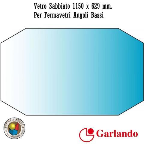 CAMPO GIOCO SABBIATO GARLANDO 1150 X 629 MM. PER FERMAVETRO ANGOLO BASSO