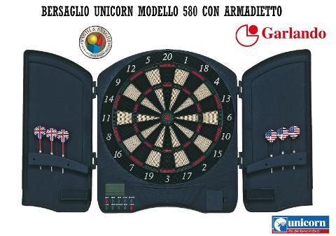 BERSAGLIO  ELETTRONICO UNICORN MODELLO 580 CON ARMADIETTO