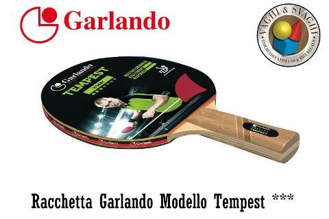 RACCHETTA GARLANDO TEMPEST 3 STELLE