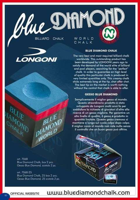 GESSO  LONGONI DIAMOND BLU DA 25 BOX