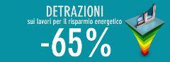 Detrazione 65% TENDE E SISTEMI OSCURANTI