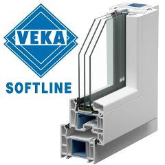 Serramenti, infissi in PVC di stile VEKA