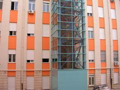 OSPEDALE UNICO di AVOLA-NOTO (Siracusa), costruzione facciata continua Metra