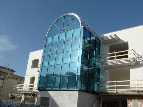 CONDOMINIO Castelvetrano (Trapani), Realizzazione / Costruzione Facciata Metra POLIEDRA-SKY 50