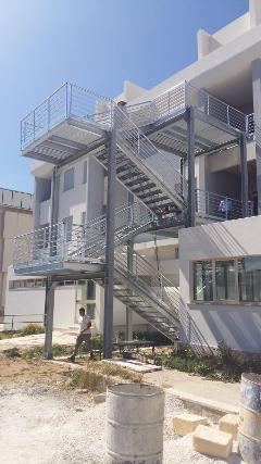 Scala di Sicurezza  Scala di Sicurezza realizzata presso Istituto Agrario Marsala TP