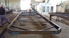 Strutture metalliche per pontili galleggianti Porto Nautico di Cecina Spa