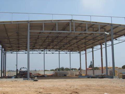 Hangar per elicotteri  Aeroporto di Lampedusa