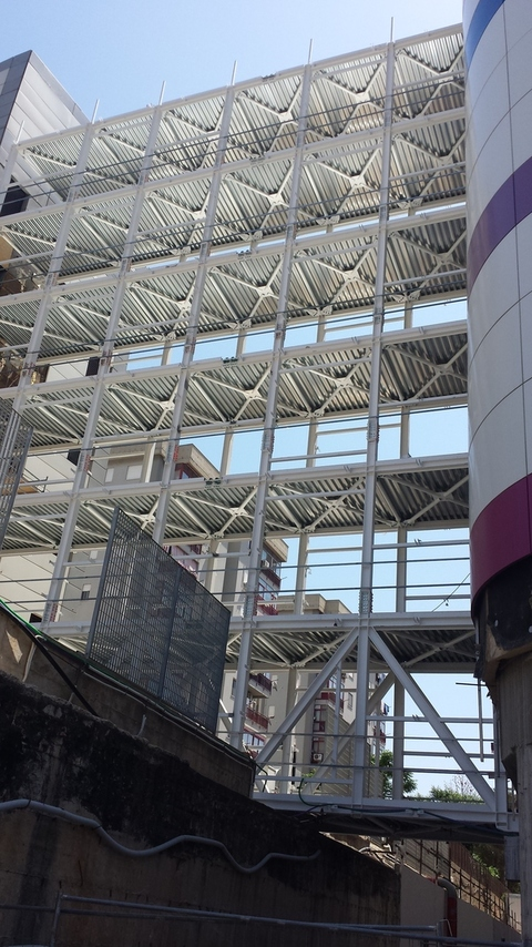 Gruppo Cianciolo Srl Passerelle a 7 piani Clinica La Maddalena - Palermo