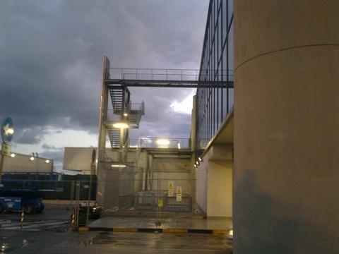 """Aeroporto civile """"V. Florio"""" Trapani Birgi Realizzazione di strutture metalliche zincate"""