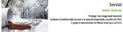 Tagliando Autunnale Winter Check Up
