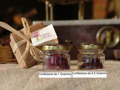 Zafferano in Confezione da 0.5 Grammi Oro Rosso di Sicilia