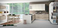 Cucine moderne telaio CREO KITCHENS (by LUBE) a Caltagirone CREO KITCHENS (by LUBE) MYA / SELMA / TAIMI