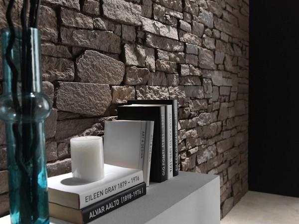Applicazioni pareti rivestimenti in finta pietra poliuretano