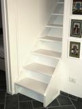 Realizzazione e progettazione, in falegnameria, di scale in legno