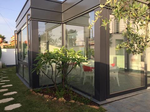 Giardino d'inverno  infissi PVC  Terrasini (PA)