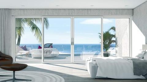 Scorrevole Alzante  Schuco Living Slide Panorama
