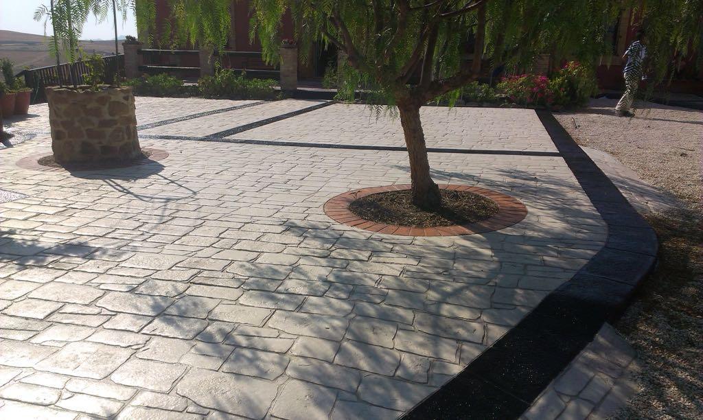 Calcestruzzo Stampato Palermo : Pavimenti in calcestruzzo stampato e resinato adrano calcestruzzi