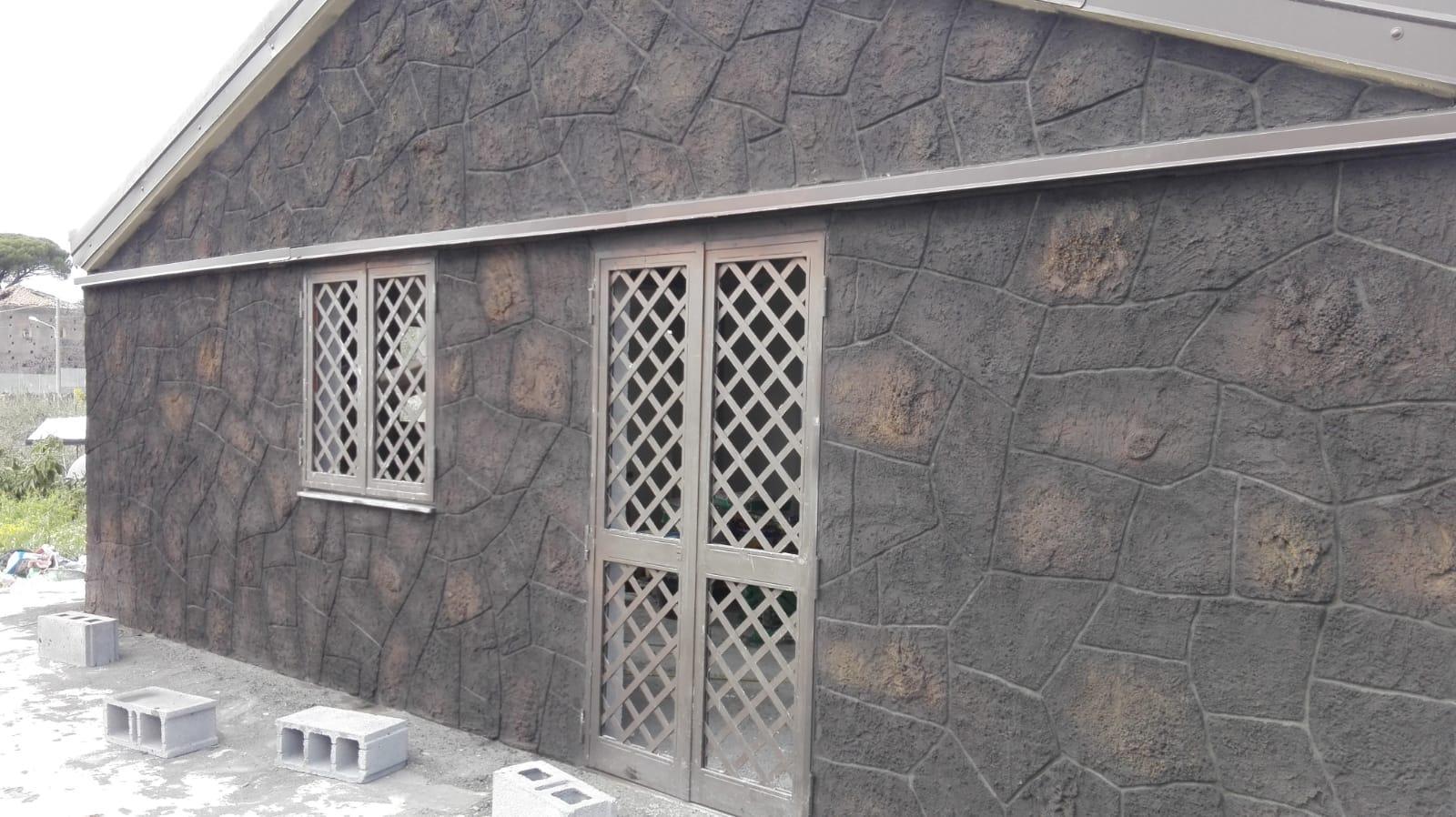 Muro Fatto In Pietra rivestimenti muri case in pietra lavica adrano calcestruzzi
