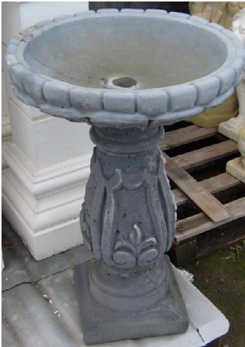 fontane effetto pietra lavica per arredo urbano per