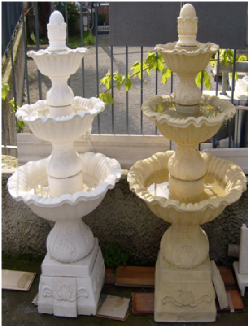 Fontane per arredo urbano per esterno giardino a partire for Fontane da arredo