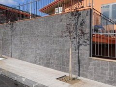 Rivestimenti muri in pietra lavica ADRANO CALCESTRUZZI SRL