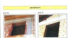 Architravi in cemento  ADRANO CALCESTRUZZI s.r.l. SONO PRODOTTI IN CALCESTRUZZO  VIBRO-COMPRESSO