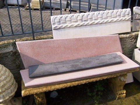 Coprimuri effetto pietra lavica bocciardata ADRANO CALCESTRUZZI s.r.l.