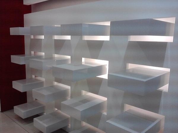 Arredo di design per negozi a catania metal projects catania for Negozi di arredamento catania