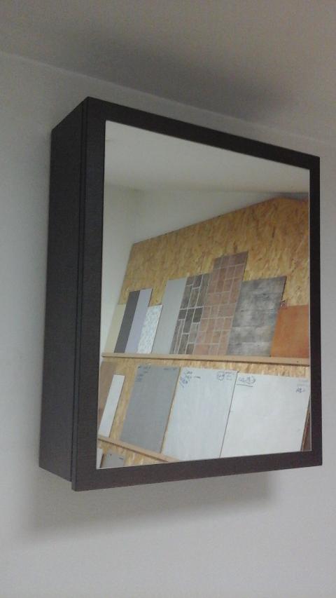 Specchio contenitore wenghè