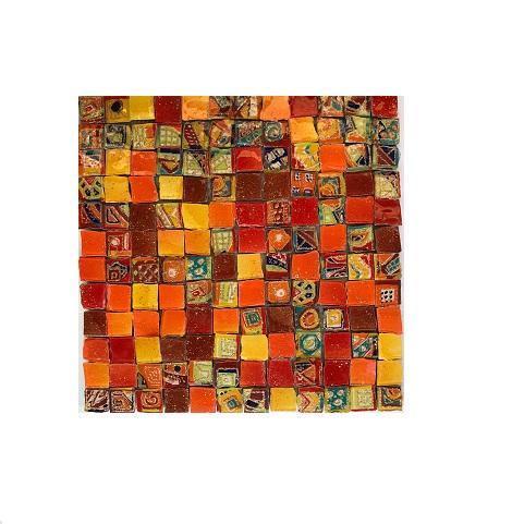 Mosaico 30x30 su rete
