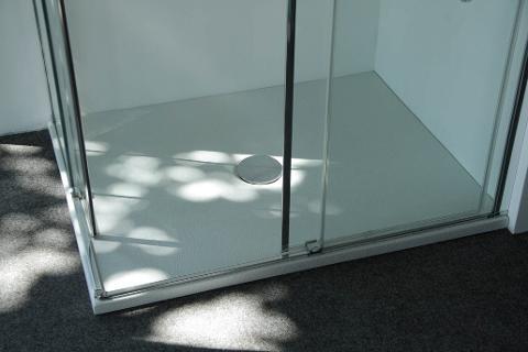 Piatto doccia 90x90 Uniko h3 Corteccia bianco