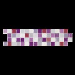 Listello decoro mosaicato B&B Immagine
