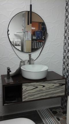 Mobile bagno moderno Labor Legno Jazz