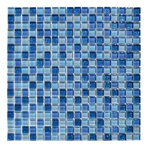 Mosaico vetro su rete 30x30 Mosaico Tre Alba