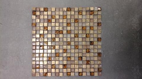 Mosaico vetro/ceramica su rete 30x30 Generico Generico