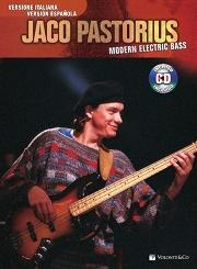 Jaco Pastorius MODERN ELECTRIC BASS con CD