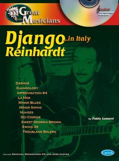 Collana Great Musicians DJANGO REINHARDT ...in Italy