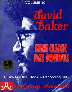 AEBERSOLD VOL. 10 DAVID BAKER CON CD