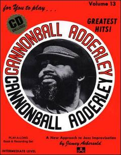 AEBERSOLD VOL. 13 CANNONBALL ADDERLEY CON CD
