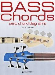 Tony Corinzia BASS CHORDS 950 chord diagrams