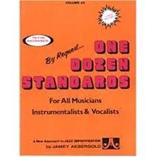 AEBERSOLD VOL. 23 ONE DOZEN STANDARDS CON 2 CD