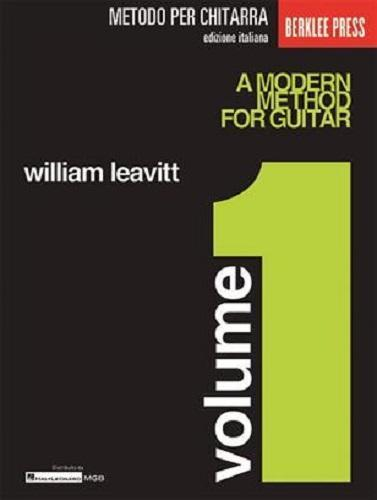 William Leavitt A MODERN METHOD FOR GUITAR Vol. 1