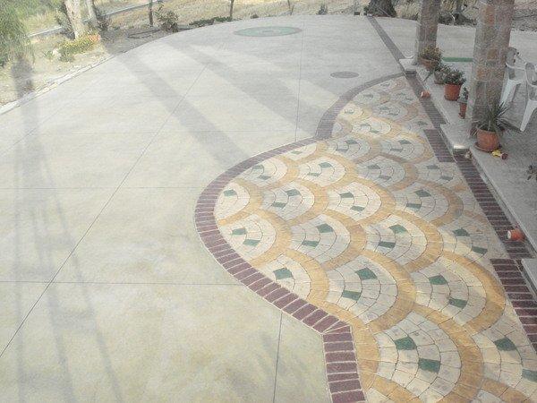 Calcestruzzo Stampato Per Esterni : Pavimento stampato sicilia sira pavimenti nicosia enna
