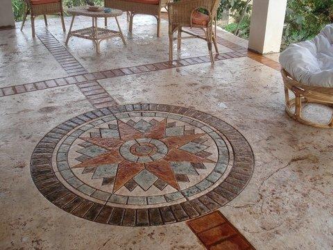 Calcestruzzo Stampato Sicilia : Lavorazione pavimento stampato sicilia sira pavimenti nicosia