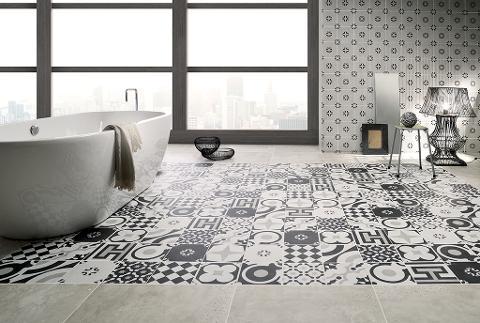 CEMENTINE | piastrelle in gres porcellanato per pavimenti esterni e per rivestimenti interni.