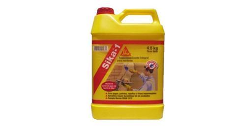 Sika®-1 Additivo impermeabilizzante per malte a presa normale