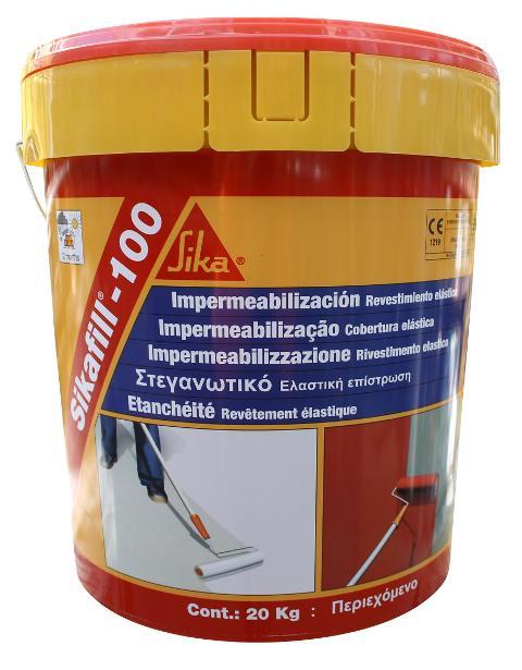 Sikafill® Guaina elastica per impermeabilizzazioni di coperture nuove ed esistenti Sika