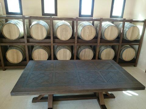 Tavolino prestigioso in Legno massello Invenzione d'Arredamento Rettangolare